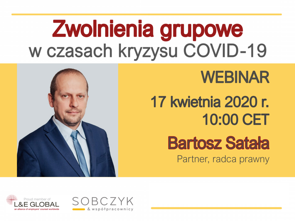 Zwolnienia Grupowe w czasach kryzysu COVID-19